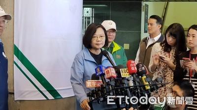 韓國瑜點名台肥、國稅局外洩個資 蔡英文:要公權力調查要有證據!