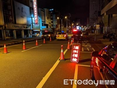 台南跨轄聯合取締酒駕大執法