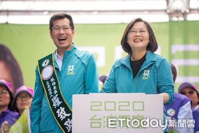 蔡英文板橋站台羅致政 香港人現身力挺:民進黨一定要贏!
