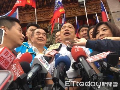 親民黨釀「郭宋配」? 韓國瑜:期待乾淨選舉