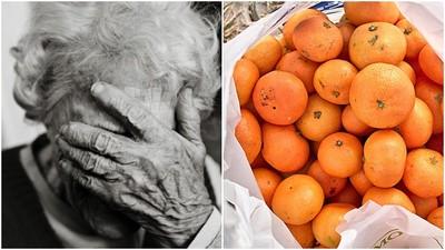 82歲窮老兵進超市「只偷一包橘子」! 警查明原因後:放你走吧