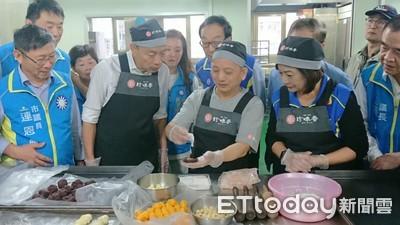 韓國瑜親手製作「帝王酥」