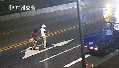 大學生情侶「馬路中央」吵架 女生被撞飛身亡!