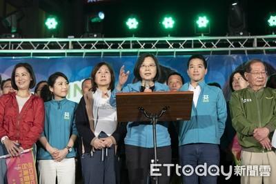 上千支持者擠爆會場!蔡英文站台何志偉:台商回流下週可望破7千億