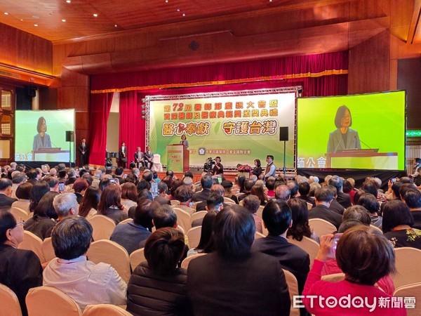 出席醫師節慶祝大會 蔡英文喊話:未來持續改善醫療環境