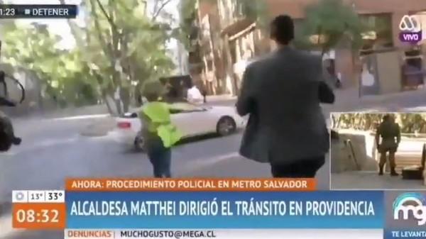 智利市長不想受訪…直接拔腿「跑給記者追」 推文笑談:早上運動很棒
