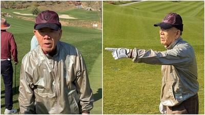 下令掃射引爆光州事件 韓前總統笑打高爾夫 稱罹阿茲海默不記得了