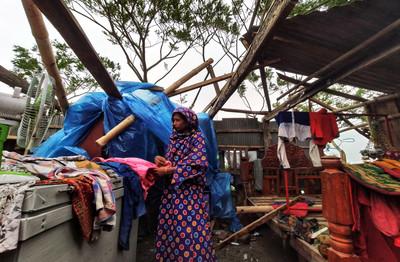 氣旋襲印度、孟加拉 20死200萬人躲避難所
