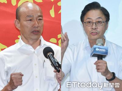 張善政「政黨票隨心而去」 韓國瑜:未來會跟他溝通