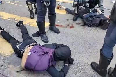 香港衝突激化 英:令人不安