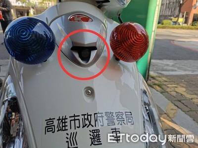 警用機車裝隱形鏡頭 網路謠言四起警回應了