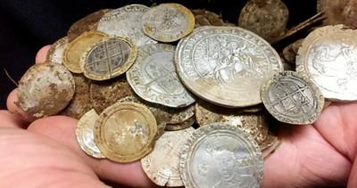 發了!找戒指卻挖到400萬古金幣
