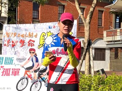 雙寶媽罹乳癌 挑戰1100公里自行車環島