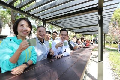 竹市長和公園化身「森林客廳」