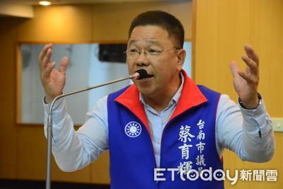 蔡育輝爆對手賴惠員助理「露鳥照性騒」