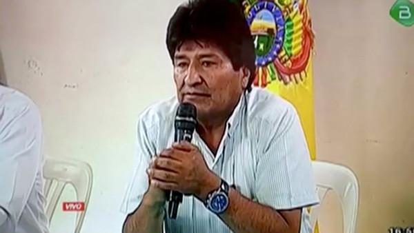 ▲玻利維亞總統莫拉萊斯(Evo Morales)請辭,示威者歡慶。(圖/路透)