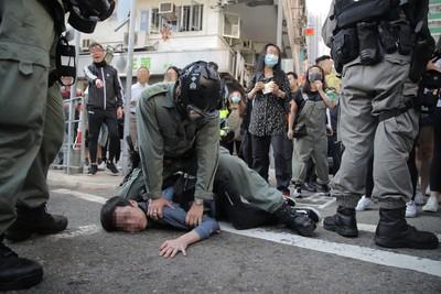 林鄭月娥批示威者「鼓催三罷」:極為自私