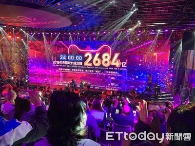 天貓雙11總成交額2684億元!再創新紀錄