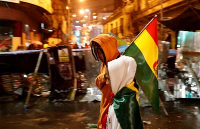 權力真空 玻利維亞首都陷入動亂