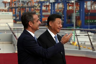 習近平訪希臘中遠集團投資最大港201億