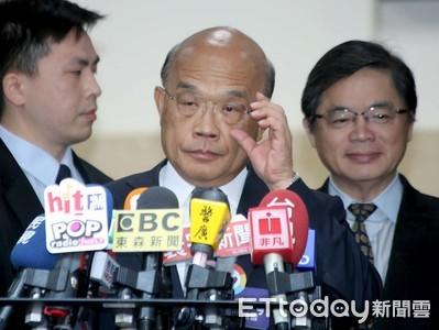 韓國瑜稱蔡賴配「武大郎跟潘金蓮」 蘇貞昌:他該擔心的是黨內不合