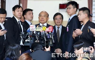 蘇貞昌談港警開槍:選舉當前台灣人更要慎重