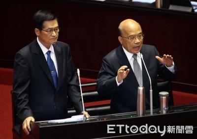 蘇貞昌赴立院報告F-16V特別預算案