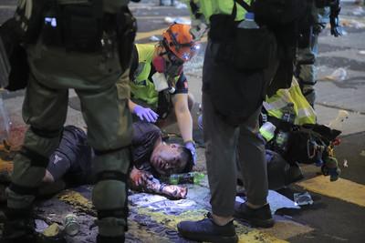 美國務院譴責香港暴力 籲北京履行承諾