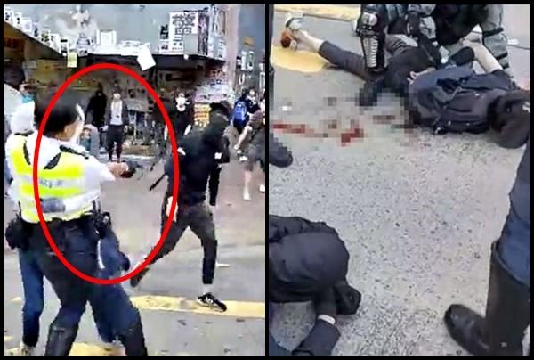 小英批港府對民眾開槍 國台辦:請她「縮回伸向香港的黑手」
