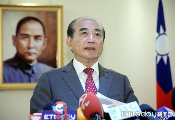 ▲▼王金平宣布退選記者會。(圖/記者屠惠剛攝)