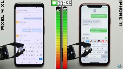 Pixel 4 XL耗電快?實測續航時間僅較iPhone 11少一小時