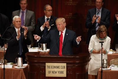 川普發表經濟演說 投資者超樂觀