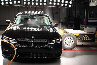 BMW 3系列歐洲撞擊測試「5顆星」過關 97%成人防護表現備受肯定