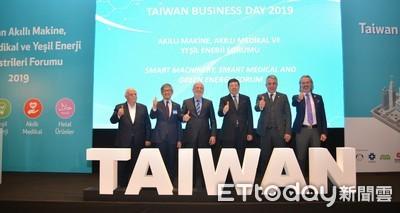 土耳其台灣周開跑 貿協秘書長葉明水率四大產業拓銷