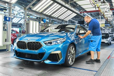 BMW 2系列GranCoupe上線生產