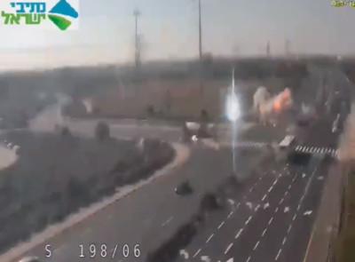加薩報復以色列通勤時間火箭彈轟炸公路