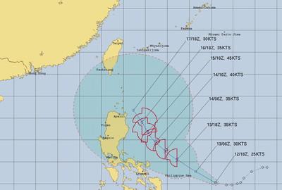 海鷗颱風最快今生成晚起變天 下周雨更多高溫掉7度