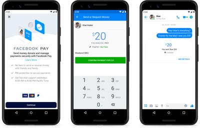 臉書推出Facebook Pay電子支付!轉帳、線上付款、購票樣樣行