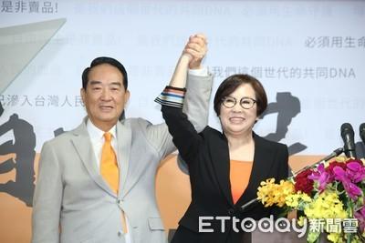 宋楚瑜談兩岸:總統副總統照罵不被關