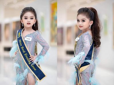 6歲女童選美奪冠 超高顏值掀轟動