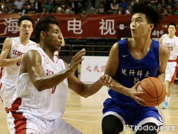 兩岸大學生籃球賽落幕 陸MVP:欽佩台灣選手拚搏精神