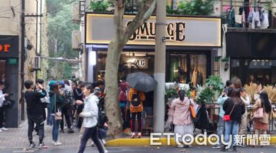 林俊傑咖啡店上海開幕 粉絲熱排3天瘋朝聖