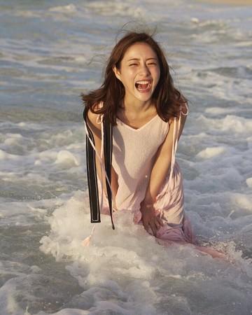 石原聰美曾被選為「最想成為她的樣子」女星第1名,在這次投票只拿到第6名。(網路圖片)
