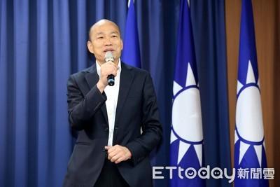 韓國瑜:我挺港人全面民主普選