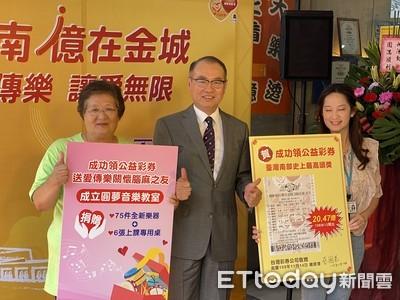 威力彩20.47億元獎落台南南部最高獎金紀錄