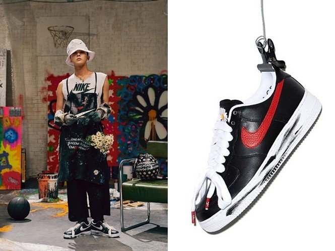 ▲GD X NIKE red version。(圖/翻攝自peaceminusone)
