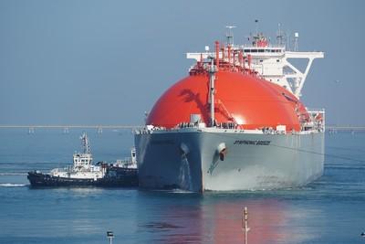 台灣中油澳洲普陸氣田自產液化天然氣抵台