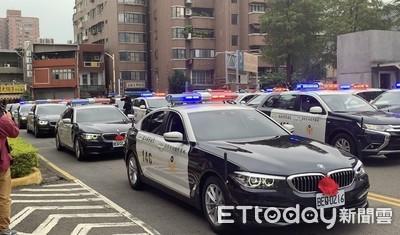 桃警新車啟用 鄭文燦:提升執勤效能