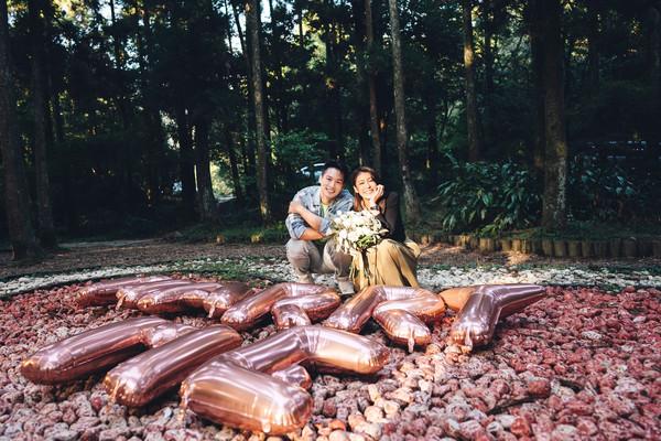 ▲名模藝人趙孟姿和許孟哲興趣相投,兩人都喜愛戶外運動和大自然。(圖/凱渥提供)
