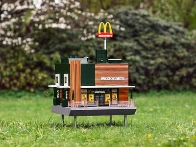 食力/蜜蜂住的迷你麥當勞分店!